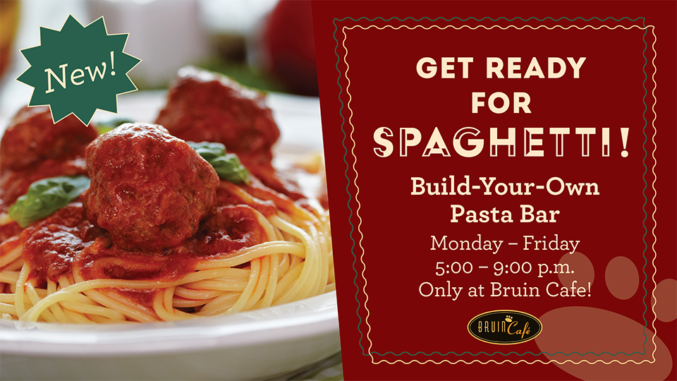 Bruin Café: Build-Your-Own Pasta Bar