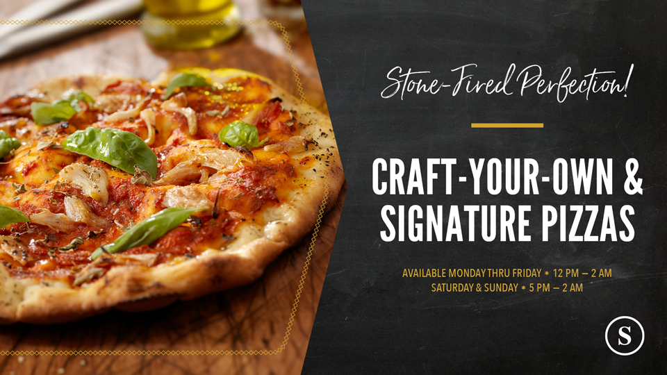 The Study at Hedrick: Craft-Your-Own & Signature Pizzas
