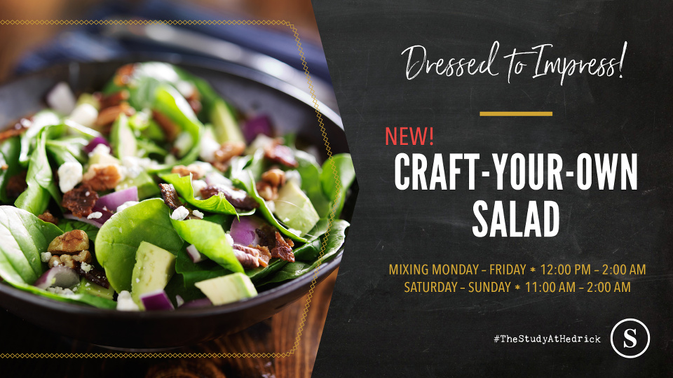 Craft-Your-Own Salad at The Study at Hedrick