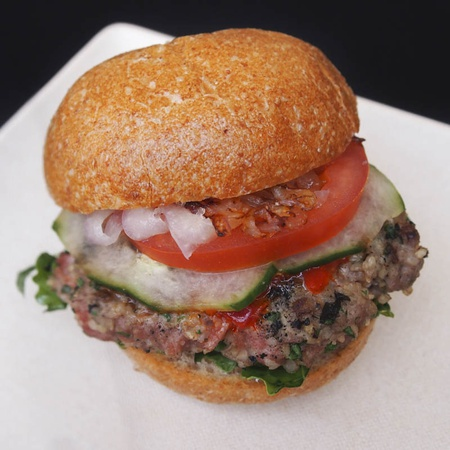 Beef & Bulgur Slider